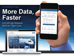 Aircraft Flight Scheduling with Responsive Web Design