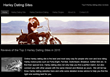 HarleyDatingSites.net Publishes its List of the Top 3 Dating Sites for Harley Riders