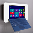 Shell+ 12 wall mounted Microsoft Surface Pro 3 enclosure kiosk with keyboard