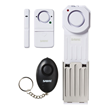 SABRE's Dorm/Apartment kit is portable and includes one Door Stop Alarm, one Mini Personal Alarm with LED Light and one Door/Window Alarm.