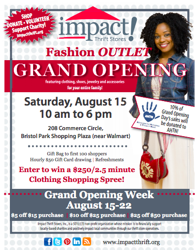 impact thrift stores announces grand opening of new
