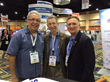 Dr. Seth Rubenstein (FASMA Reston Division, center) with Barney Greenberg, DPM - Chairman of APMAPAC (left) and Phill Ward, DPM - President of the APMA (right)