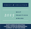 Bedrock Automation Receives Frost & Sullivan 2015 Best Practices Award for Industrial Control System Innovation