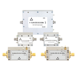 In-Stock Cost Effective LNAs in Coaxial Packages All Priced Less than $500 USD Now Available from Fairview Microwave