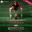 FIT & Flirty's Ultimate Fitness Fashion Touchdown Giveaway - WIN $300 in store at FIT & Flirty and $75 NFL Shop Gift Card