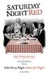 Saturday Night Red Wine Label
