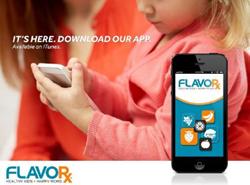 FLAVORx iPhone App