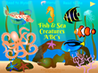 Fish & Sea Creatures ABCs App Home