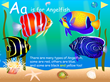Narrated rhyming storybook about Fish from A-Z