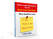 Cover of Sales Lead Generation Secrets Tip Guide