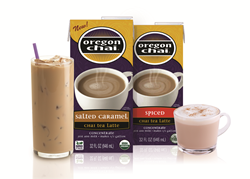 Chai Tea Latte Mixes from Oregon Chai now include Spiced and Salted Caramel Chai