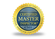 Each Home Inspection has a Certified Master Inspector onsite.
