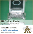 AIM to Participate in SMTA International from September 27th – October 1st, 2015