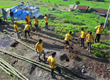 Scientology Volunteer Ministers continue constructing shelters and schools in outlying districts.