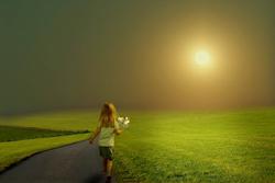 Hope in a better future. CREDIT: Massimo Valiani, Creative Commons
