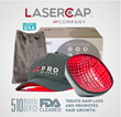 LaserCap® Company Receives FDA Clearance for LCPRO Women's Hair Loss Treatment Device.