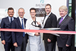 Official ribbon-cutting for the new salonB at Bauman Medical Group. Dr. Alan Bauman with top executives from Cesare Ragazzi and Troy McLellan, president/CEO of the Boca Raton Chamber of Commerce