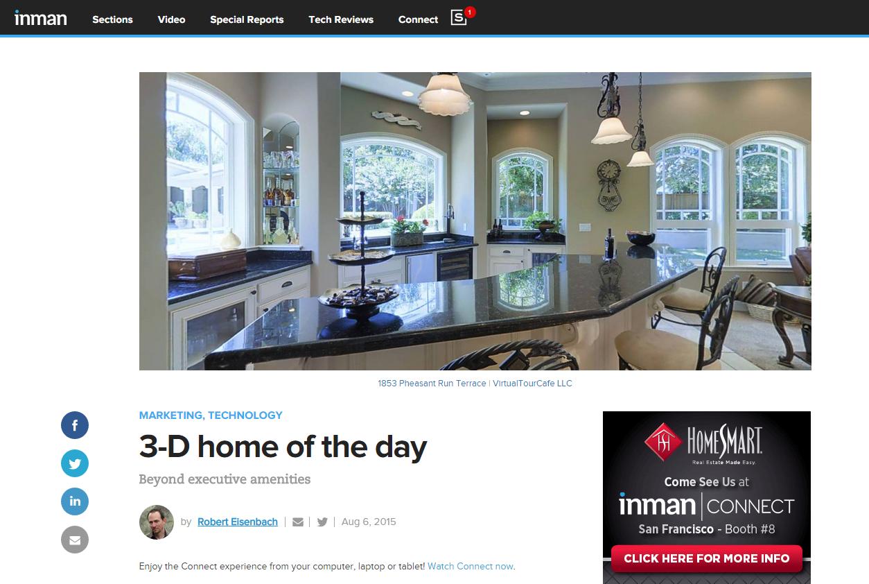 Real estate virtual tours provider virtualtourcafe new 3 d for Virtual home walkthrough