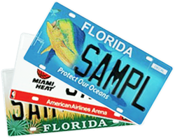 Florida specialty plates