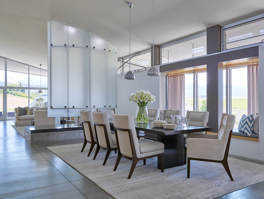 WRJ Designs Interiors Provide The Same Serenity As Award Winning White Space Advertising Campaign They Created With Creative Director Ed Riddell