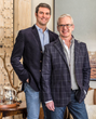 Partners Rush Jenkins and Klaus Baer draw inspiration from the spectacular Teton Mountains setting of their Jackson Hole-based business WRJ Design.