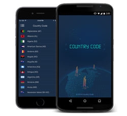 Country Code Dialer for iPhone and Android