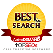 ActiveDEMAND Rated One of the Top Call Tracking Software Solutions by TOPSEOs