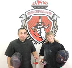 AFM New Fencing Coaches - Vil Nagimov and Anastasia (Nastya) Churkova
