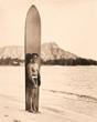 Duke Kahanamoku, 1930.