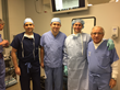 Doctors Bardia Amirlak, Ali Totonchi, Jeffry Janis and Bahman Guyuron during demonstration in the cadaver lab.