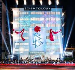 THE CHURCH OF SCIENTOLOGY WELCOMED ITS NEW IDEAL ORGANIZATION in the bustling metropolis of Tokyo, Japan on Saturday, August 8, before a captivated audience of more than a thousand.