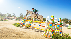 Marcio Jorge (BRA) and Coronel MCJ at the Olympic Equestrian Test Event - the Aquece Rio International Horse Trials - today at the Deodoro Olympic Park (9 August 2015). (Raphael Macek/FEI)