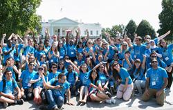 CIEE Leadership Summit participants in Washington D.C.