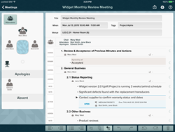 Take control of your meeting notes with for Meetings for iPad, a...