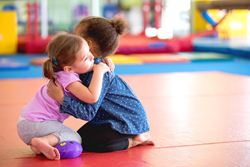 Games and programs such as Health World's can help your child adapt positive social skills.