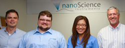 New Scientists on Staff at Nanoscience Instruments