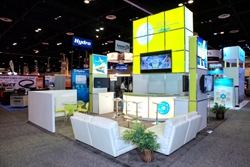 Exhibit Built by Absolute Exhibits at Power-Gen International
