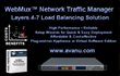 AVANU Rolls Back Prices for the WebMux Network Traffic Manager 1.7 Gbits/s Server Load Balancer Models