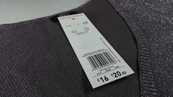 Photo of RFID tag supplied by SML to F&F