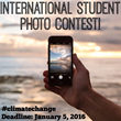 Climate Change: Carnegie Council's International Student Photo Contest, Deadline January 5, 2016