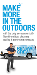 Renew Crew announces 100% Franchise Financing Opportunity for...