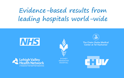Evidence-based results from leading hospitals world-wide