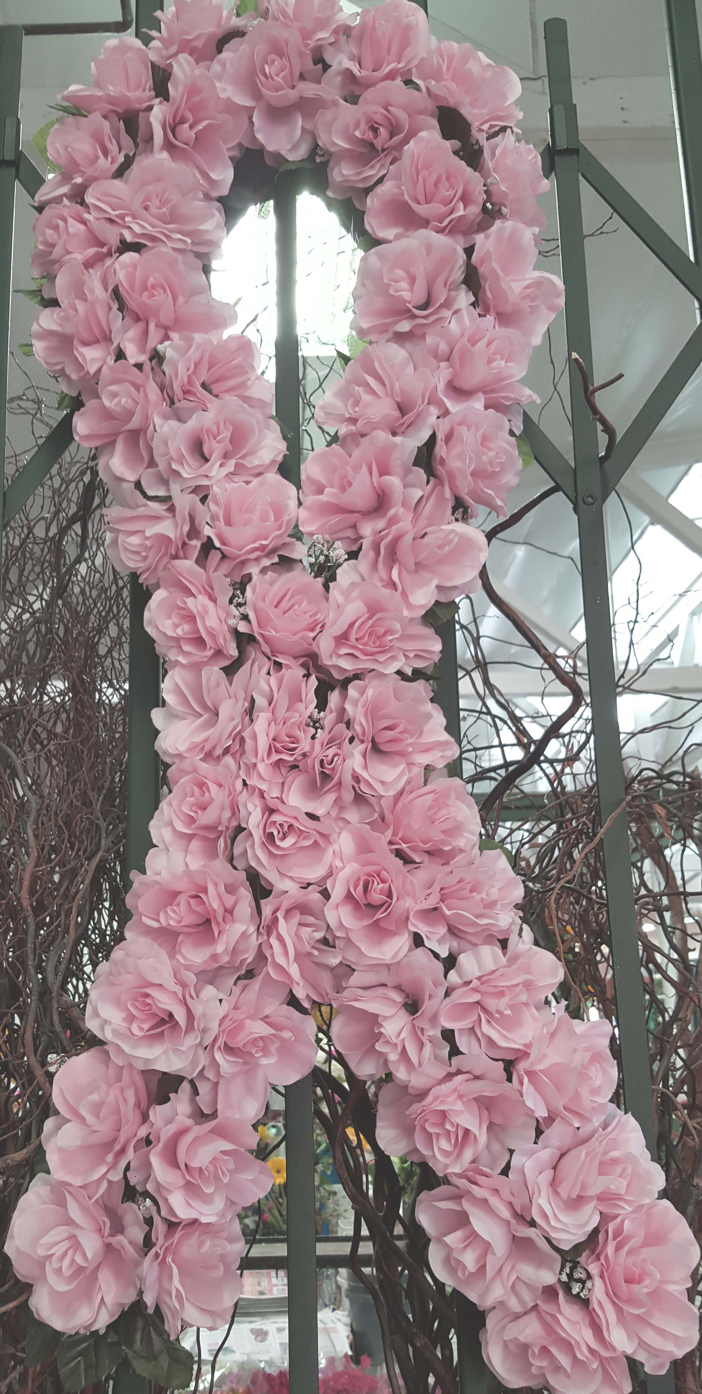 Cfm gives tips to buy cheap funeral flowers in las flower district custom design breast cancer funeral flowers izmirmasajfo Image collections