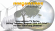 Announcing New Episode of Innovations TV Series Airing Tuesday, August 25, 2015 Via Discovery Channel