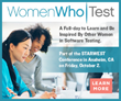 SQE/TechWell Announces Women Who Test Event in Anaheim