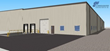 Rendering Photo 2: Front (Northeast) Elevation, Production and Warehouse Facility