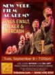 New York Film Academy Sings Ewalt, Walker, and Overcash at 54 Below