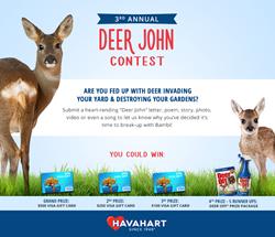Deer John Contest details