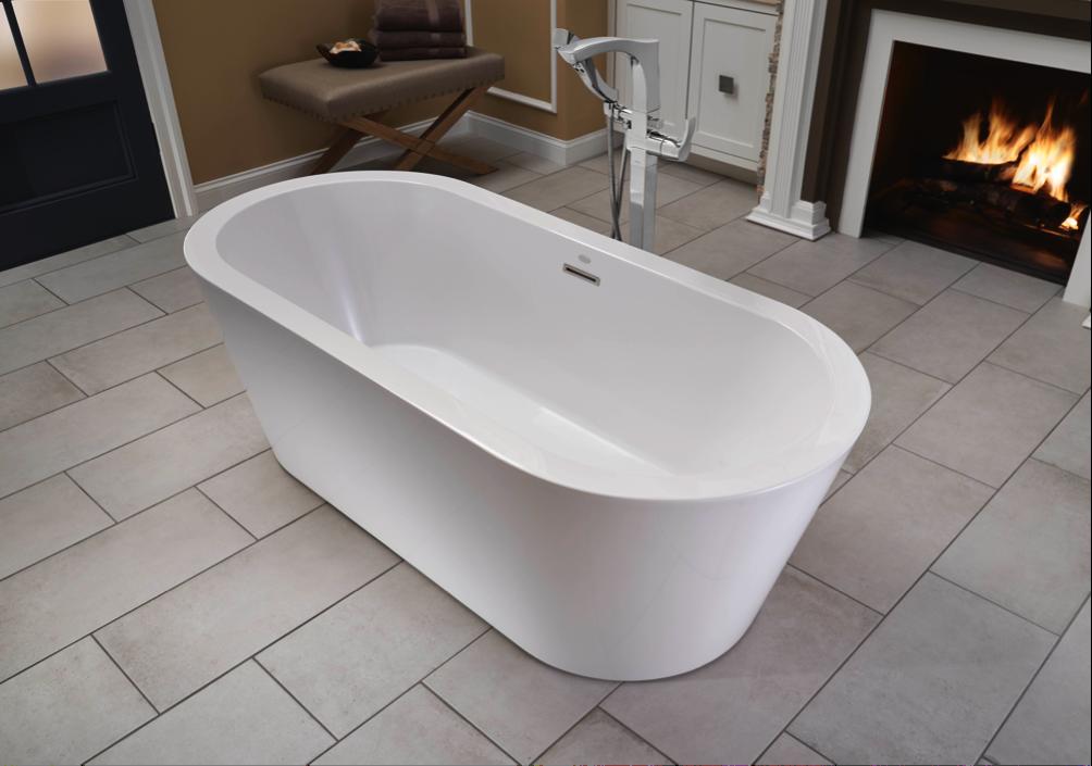Jacuzzi Luxury Bath Introduces the Celeste™ Freestanding Bathtub