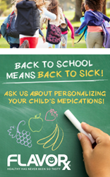 FLAVORx Back to school marketing material